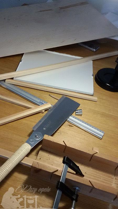 Materiały do budowy podświetlarki